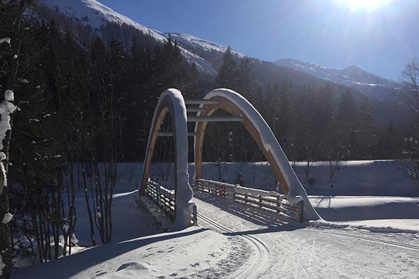 Brücke in Oberwald