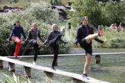 Rope Skipping am Geschinersee